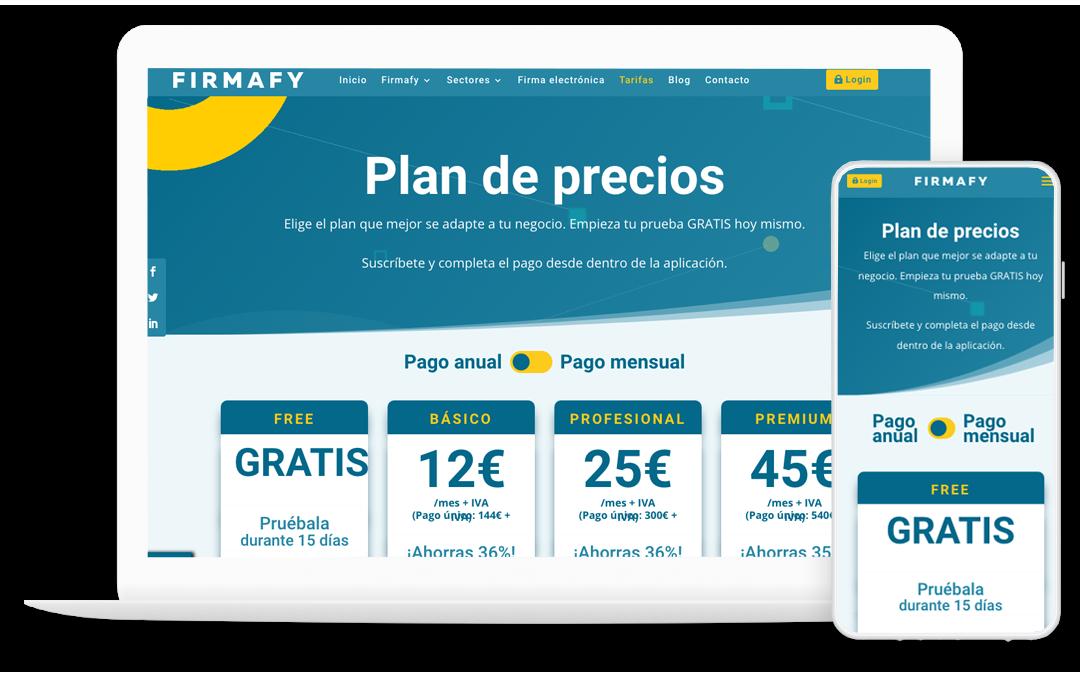 Firmafy - Prueba Firmafy gratis