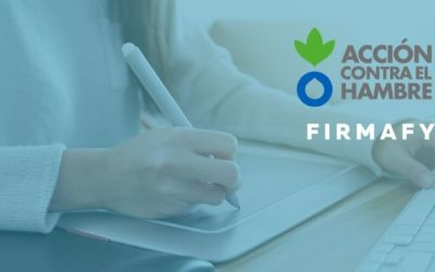 Acción Contra el Hambre digitaliza sus procesos de firma con Firmafy