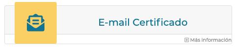 Email certificado de Firmafy