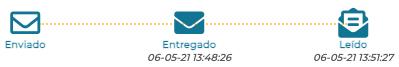 Seguimiento del Email Certificado en Firmafy
