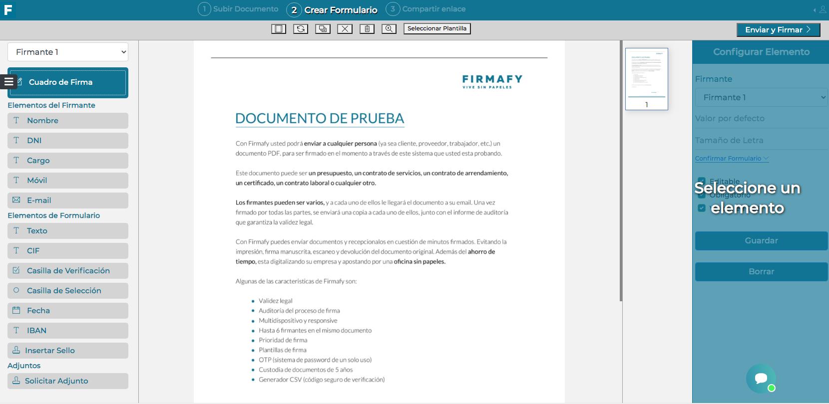 Cómo configurar Firmalink de Firmafy