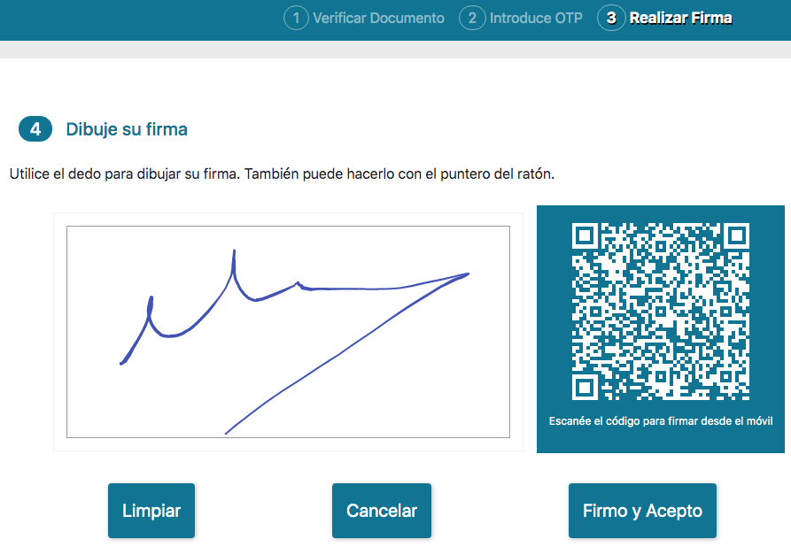 Firma desde Firmalink