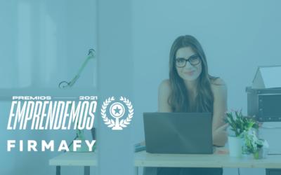Firmafy finalista de los Premios Emprendemos 2021