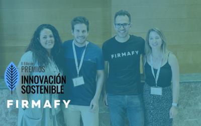 Firmafy finalista de la II Edición de los Premios Innovación Sostenible